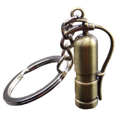 Přívěšek na klíče kovový hasicí přístroj ob.1