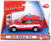 SOS auto BMW  hasiči