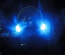 Svítilna integrovaná LED k přilbě Gallet F1 XF
