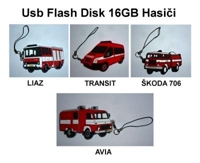 Usb Flash Disk 16GB Hasiči