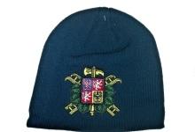 Zimní čepice, pletený kulich se znakem SDH