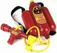 hasičské hračky, dětský zádový hasičský přístroj